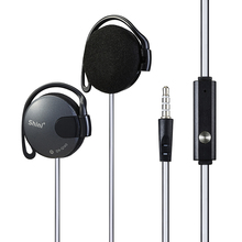 Shini Q140 Stereo Earphone Subwoofer Headphone Ear Hook Headset 3.5mm For Mobile Phone Headset Factory Price Wholesale(China)