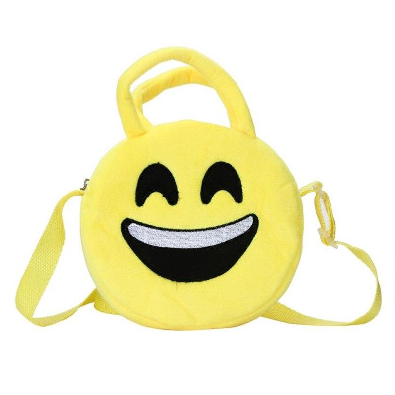 New Hot Cute Emoji Emoticon Shoulder School Child Bag Backpack Satchel Rucksack Back Pack Backpacks For Teenage Girls Sac A Dos<br><br>Aliexpress