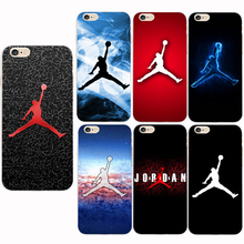 Fashion flyman Phone cases for iphone 5 5S SE 5C 6 6S 7 Plus Michael Jordan TPU back mate cover capa fundas coque