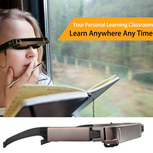 "VISION-800 Smart Android WiFi Glasses 80"" Wide Screen Portable Video 3D Glasses Private Theater w/ Camera Bluetooth Media Player"
