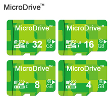 Micro Drive Green Micro SD card Class6-10 8gb 16gb 32gb memory card without adapter in retail package for phone