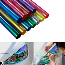 30cmx100cm Chameleon Auto Car Styling headlights Taillight film light Change Color Car film Stickers Automobiles Car Accessories