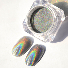 1Box Nail Art  Glitter Holographic Laser Nail Powder  Glitter Rainbow Pigment Manicure Chrome Pigments # 33256
