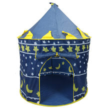 Buy Children Beach Tent, Baby Toy Play Game House, Kids Princess Prince Castle Indoor Outdoor Toys Tents Christmas Gifts for $19.15 in AliExpress store