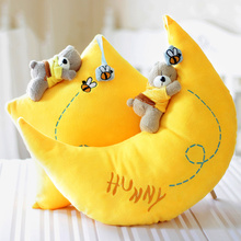 001//40CM/moon and the stars in the pillow plush toy doll gift for a Valentine's Day lovers to send girls to send her boyfriend(China)