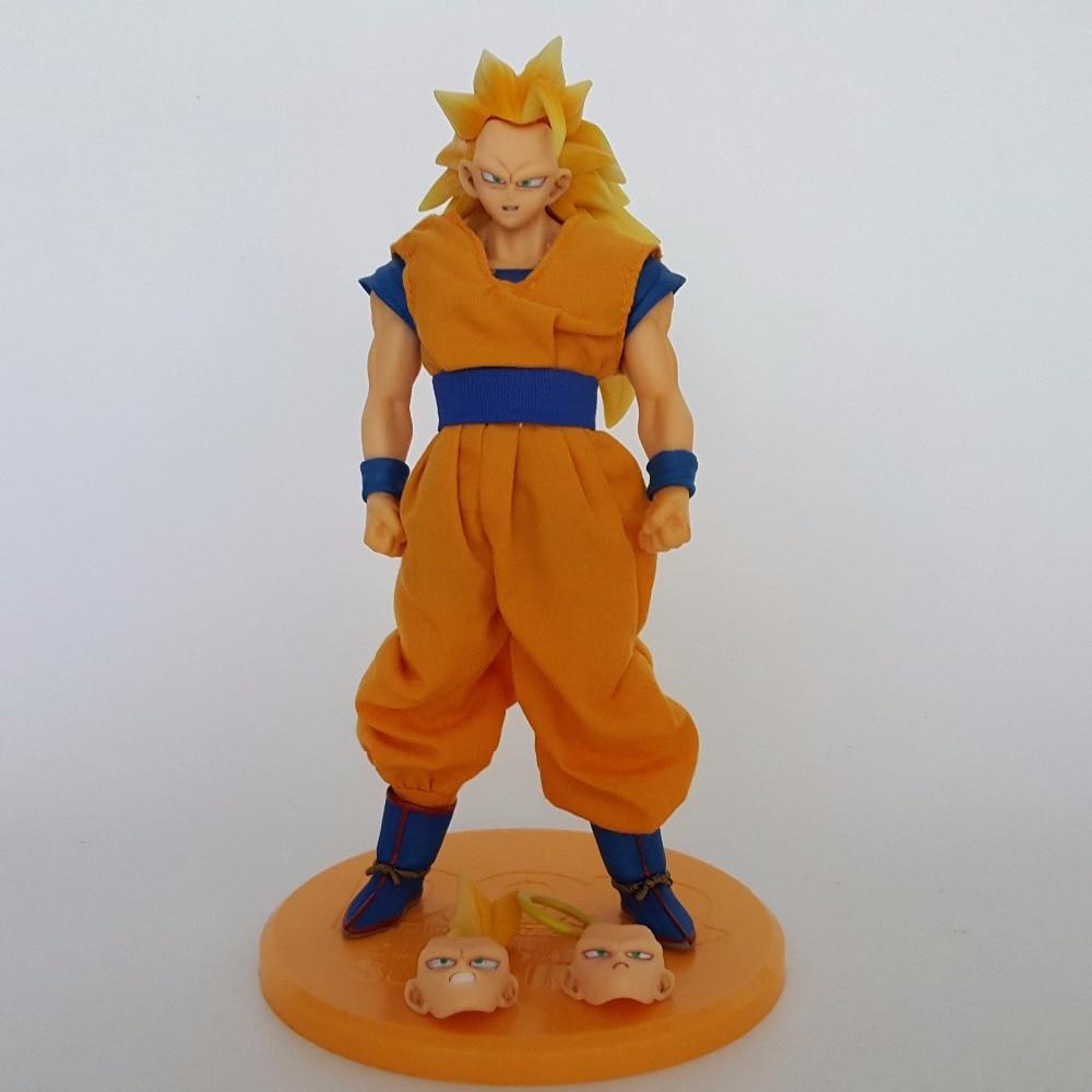 Dragon Ball Z Action Figures Son Goku DOD 210mm Super Saiyan 3 Dragonball Goku Figures Model Toy Esferas Del Dragon Juguetes<br><br>Aliexpress