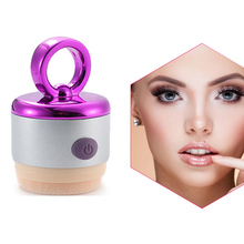 Smart Cosmetic Puff 3D Electric Foundation Face Powder Vibrator Puff Sponge Cosmetic Puff Beauty Tools(China)