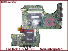 PU073 0PU073 CN-0PU073 For Dell XPS M1330 Laptop Motherboard for intel cup with Non-integrated free shipping