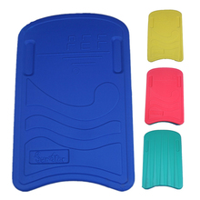Swimming Learner Swimming Board Floating Plate Kickboard Hand Board Pool Training Aid Two-tone Square Shape