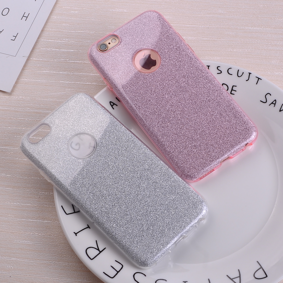 Fashion Luxury Glitter Bling Bling Paillette Soft Phone Fundas Coque For iPhone 7 7Plus 6 6S 6Plus(China)