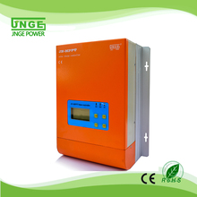 JNGE Power Ture MPPT 60A Solar Charge Controller LCD Display 12V 24V 48V Auto Solar Panel Charge Regulator