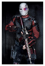 Art Figures AF021 AF-021 1/6 Death Soldier Suicide Squad Masked Deadshot Will Smith Collection Action Figure New Box