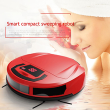 Household Cleaning Tools Automatic Brush Robotic Vacuum Cleaner Smart Sweeping Machine Vaccum Home Floor Cleaner(China)