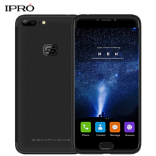 IPRO GENIPHONE G1 5.5'' Smartphone 32GB ROM 3GB RAM Android 7.0 MTK6737T Quad Core 4G Dual Rear Camera Fingerprint Mobile Phones(China)