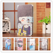 6 Select 1 Luxury Fashion Cartoon Trend Stand Back Cover Skin Leather Case For Motorola Razr i XT890(China)
