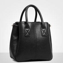 Women Handbags Genuine Leather Solid Black White Red Small Hand Bag Fashion Crossbody Really Bags Sac Pochette Femme