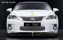 For Lexus CT200H 2010 2011 2012 2013 Grill Grille Front Center Racing Cover High Quality New Aluminum Alloy 3PCS