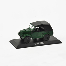 New GAZ 69A Model 1:43 Scale Altaya Jeep Diecast Model Car Toys Collection Gift For New Year Christmas Free Shipping(China)