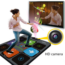 WBW Dance mat TV usb computer game camera dual thickening single weight somatosensory dancing machine free shipping