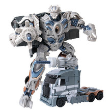 Hot Sale 18 cm Transformation Galvatron Deformation Toy Robots Brinquedos Classic Toys PVC Action Figure For Kids Gifts(China)