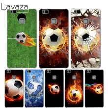 Lavaza Fire Football Cover Case for Huawei P10 P9 Lite Plus P8 Lite P7 6 G7 Cases for Honor 8 Lite 4C 4X 7