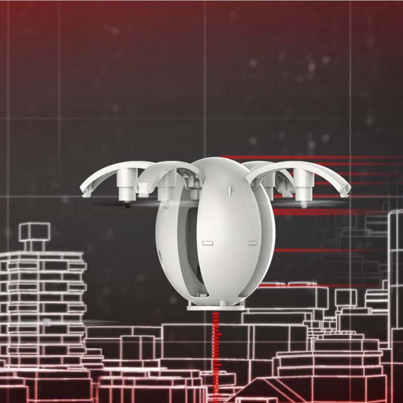 K130 Alpha Folding WIFI 4-axis remote control aircraft Transformable DIY Graffiti mini Egg Drone high RC UVA aircraft UFO