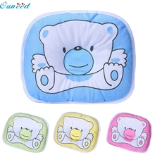 Ouneed Happy Gifts High Quality Four Colors Cotton Kids Support Head Soft Flat Sleeping Cushion Pillow High Quality(China)