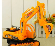 Large inertia excavator construction vehicles to spread the supply of wholesale children's toy(China)