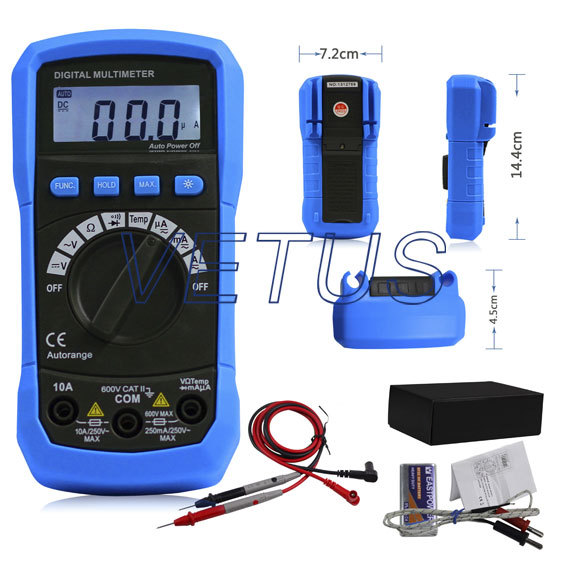 Free shipping autorange digital multimeter with temp ADMO2 Automatic range multimeter test frequencies<br><br>Aliexpress