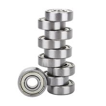 10Pcs 608ZZ Deep Groove Ball Bearings 8*22*7mm for 3D Printer 8mm Bore