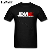 Plus Size Japanese Domestic Market JDM Rock T Shirts Men Man's Short Sleeve Crewneck Cotton Men T Shirt Team Tops Tee(China)