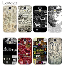 Lavaza Harry Potter Deathly Hallows Hard Transparent Cover Case for Samsung Galaxy S7 Edge S6 S8 Edge Plus S5 S4 S3 & Mini S2(China)