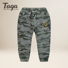 Teenage Boy Clothing Kids Camouflage Trousers Kids Pants Boys Trousers Camo Pants Boys Cotton Pants Big Size 4 6 8 10 12 14 16(China)