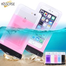 KISSCASE Waterproof Bag Case For iPhone 6 6s Plus iPhone 7 7 Plus 5s Cases For Samsung Galaxy S8 S7 S6 edge Cover Bag Pouch