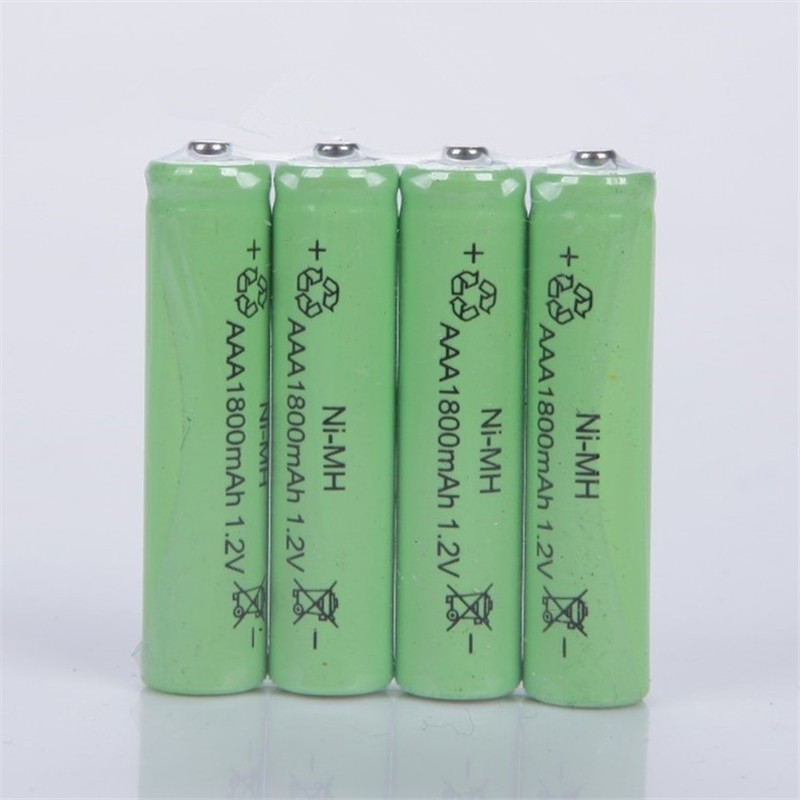 6X Ni-MH 1.2V AAA Rechargeable1800mAh 3A Neutral Battery Rechargeable battery ,Free shipping(China)