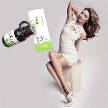 Tea Plant Essential Oil Anti Cellulite Body Wrap Slimming Fat Burner Gel Weight Loss 10ml