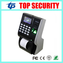 LP400 fingerprint time attendance with thermal printer TCP/IP USB biometric time attendance time clock for office factory(China)