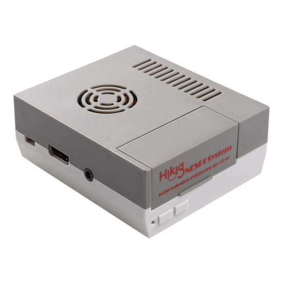 mini NES Case ( Gray + White)