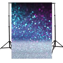 150x210CM Vinyl Purple Glitter Photography Backdrops Spot Background Studio Photo Booth Props