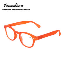 95ec81a269 Gli Uomini e le donne occhiali da lettura di modo rotondo telaio a quattro  colori cerniera a molla di disegno di occhiali da let.