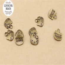 11*13mm 20pcs/bag wholesale Antique bronze hello kitty charm pendant diy jewelry Accessories F194