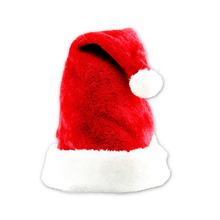 New Velvet Plush Santa Claus Hat Comfort Liner Christmas Xmas Costume Holiday Topper