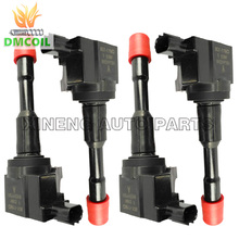 4 PCS REAR ROW IGNITION COIL FOR HONDA CIVIC VII VIII (01-) FIT II III (02-) JAZZ (03-) CITY 1.2L 1.3L 1.4L 30521PWA003 CM11-108(China)