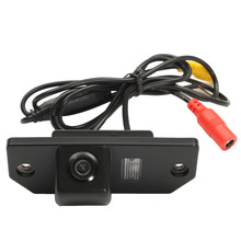 New HD Waterproof Reversing Rear View License Plate Camera For Ford /Focus /Sedan(China)