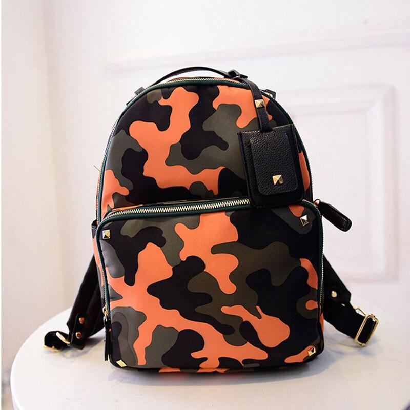 Women Nylon Camouflage Backpacks for Teenage Girls Portfolio School Bag Travel Rucksack Shoulder Bolsa Mochila Escolar XA593A<br><br>Aliexpress