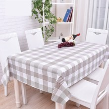 Pastoral Style Table Cloth Rectangular PVC Floral Printed Tablecloth Home Protection Wedding Decoration Table Cover