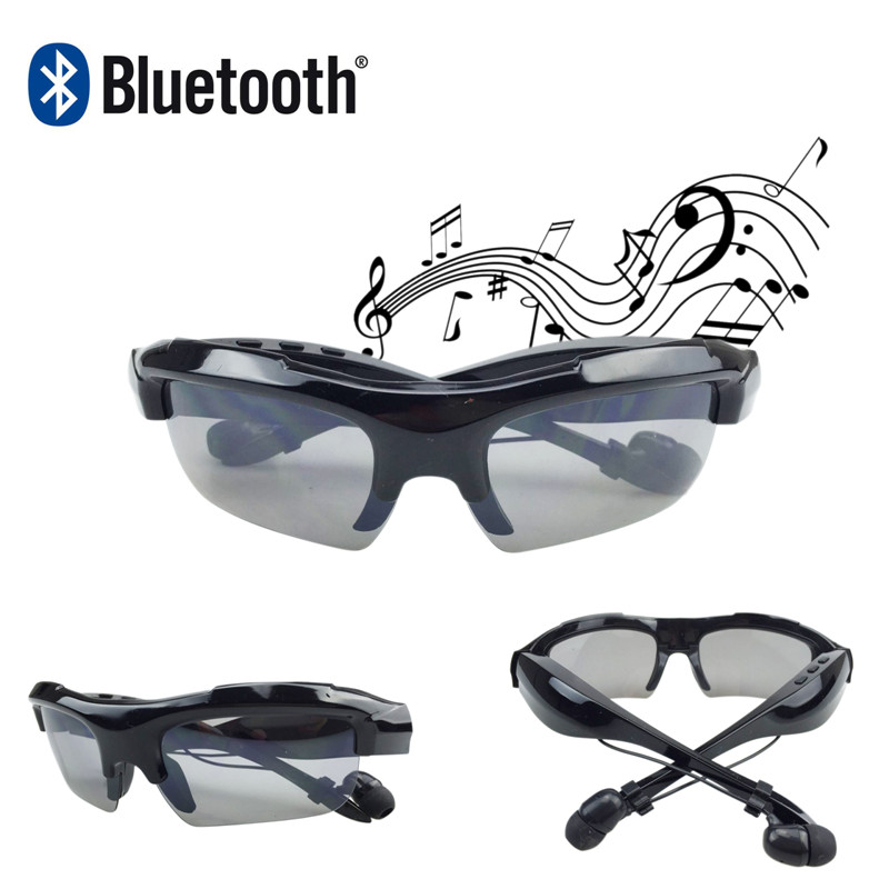 New Bluetooth SunGlasses Headset headphone Wireless Headphone Bluetooth Stereo Music Phone Call Hands free Headset for Phone<br><br>Aliexpress