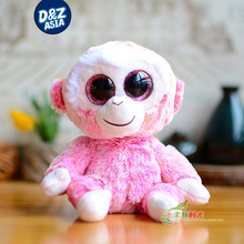 4'' ty beanie boos plush cute pink macaque doll monkey plush toys gifts gifts stuffed toys(China)