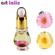 Artlalic 1 Bottle 15mL Dry Dried Flowers Nourishment Oil Nail Cuticle Tools Nutritional Nail Polish Oil UV Gel Nail Treatment(China)