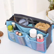 Convenient Outdoor Travel Makeup Organizer Foldable Cosmetic Make Storage Bag Washing Case Underwear Package
